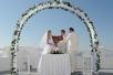 Официальная свадебная церемония на острове Санторини